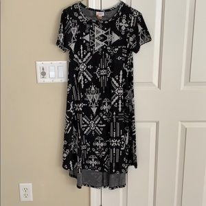 Black and gray Carly dress